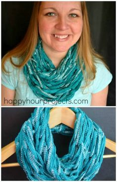 A Thinner, Lighter scarf  http://www.diyncrafts.com/8532/fashion/23-insanely-clever-arm-knitting-projects-techniques