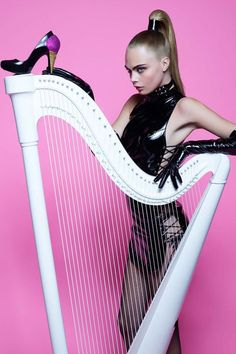 Cara Delevigne by Karl Lagerfeld for Melissa Magazine