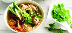 Tasty and so simple to make, this Chinese Noodle Soup with delicious chicken dumplings will warm you up from the inside.