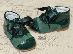 botas verde botella landos botas niña - botas niño - calzado infantil - kukin