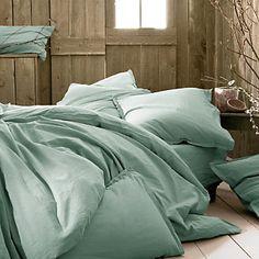 CALANQUES Lot de 2 taies d'oreiller en coton blanc capelan 65x65cm