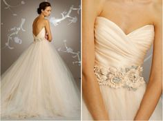 Blush Lazaro wedding gown (my dream dress)