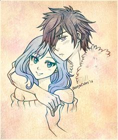 "beaglecakes: "" Commission of Gray Juvia! — Status — Jerza - Completed! Gruvia - Completed! Nalu - Pending Elfgreen (or Everman??) - Pending """
