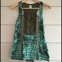 Anthropologie: TINY tank size S Gorgeous detailed tank from TINY. In EXCELLENT condition! Anthropologie Tops Tank Tops