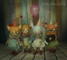 Kardenchiki art dolls