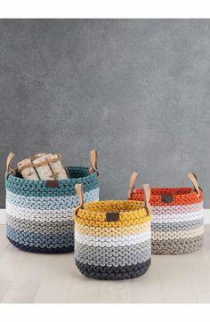 Main Image - UGG® Rainbow Rope Basket