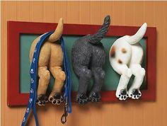 Puppy Wall Hook Ideas
