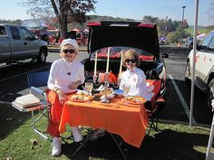 Clemson Girl Tailgate Recipe - French Toast Breakfast Casserole & Clemson tailgate tablecloth | Football games / tailgating ...