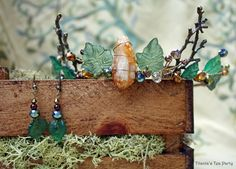 Leaf Crown, Woodland Tiara - pinned by pin4etsy.com