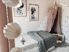 Katia's Soft and Calming Nursery with Pastels - designed by London based children's interior design studio Revellab - interview with tips and advice Girl Room, Girls Bedroom, Bedroom Decor, Baby Room, Pastel Designs, Kids Decor, Home Decoration, Decor Ideas, Small House Design