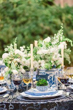 Turquoise, Tulips and Bliss: Wednesday's Wedding Inspired Bliss ~ Ginger Jar Designs via http://turquoisetulipsandbliss.blogspot.com/2014/01/wednesdays-wedding-inspired-bliss.html