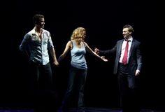 Ghost Opening Night: Richard Fleeshman, Caissie Levy & Bryce Pickham