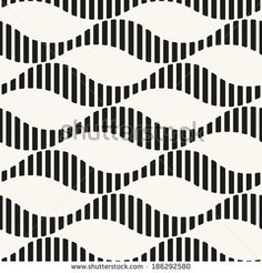 Seamless ripple pattern. Repeating vector texture. Striped waves. Graphic background