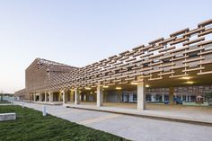 Gallery of The French International School of Beijing / Jacques Ferrier Architecture - 10