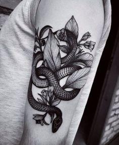 tatuajes de serpientes para hombres ideas