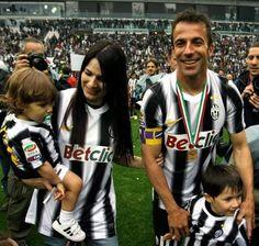 La Famiglia Del Piero! <3