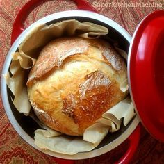 Bread Recipes Dänisches 1 Minutenbrot im Thermomix *** Dutch Oven No Knead Bread Pain Thermomix, Thermomix Bread, Bread Recipes, Baking Recipes, Quiche Recipes, Bellini Recipe, Dutch Oven Bread, Cuisine Diverse, No Knead Bread