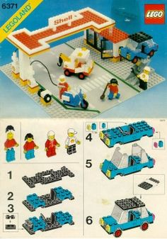 Thousands of complete step-by-step printable older LEGO® instructions for free. Here you can find step by step instructions for most LEGO® sets. Lego Toys, Lego Duplo, Manual Lego, Lego Super Mario, Lego Club, Lego Activities, Lego For Kids, Vintage Lego, Ideas