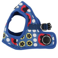 Puppia Authentic Blossom Vest Harness B, Medium, Royal Blue *** Read more reviews of the product by visiting the link on the image.