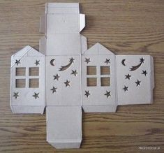 DIY Handmade: Lampion adwentowy na roraty - szablony Ramadan Decorations, School Decorations, Diy Projects To Try, Craft Projects, Design Crafts, Diy Crafts, Cute Gift Boxes, Paper Crafts Origami, Free Christmas Printables