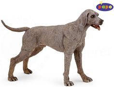 The Weimaraner from the Papo Dogs collection - Discounts on all Papo Toys at Wonderland Models. One of our favourite models in the Papo Farm range is the Papo Weimaraner. http://www.wonderlandmodels.com/products/papo-weimaraner/