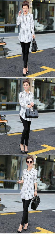 New Fashion Print Blouses Women Long Style Shirts 2019 Cotton Ladies Tops Long Sleeve Blusas Femininas Plus Size Women Clothing Fashion Prints, New Fashion, Ladies Tops, Plus Size Womens Clothing, Printed Blouse, Blouses For Women, Shirt Style, Long Sleeve Tops, Casual