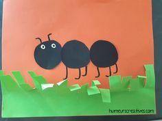 Les fourmis, activités pour enfants - Mes humeurs créatives Ant Crafts, Diy Crafts For Kids, Kindergarten, Mini Beasts, Explorer, Preschool, Camping, Spring, Ant