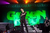 Green Day - great band who puts on an awesome live show!  Saw them in New Orleans a couple of years ago & truly loved the whole show!!