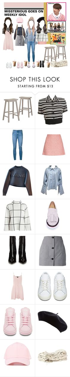 """""""«WEEKLY IDOL» MISSTERIOUS APPEARANCE"""" by cw-entertainment ❤ liked on Polyvore featuring Tribecca Home, Christian Dior, Nobody Denim, Gucci, Alexander Wang, Vivienne Westwood, MSGM, Balenciaga, Carven and Topshop"""