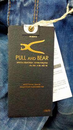 Pull & Bear #hangtag