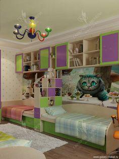 Универсальные детские для двоих детей - Детские для двоих детей - фабрика Галерея мебели