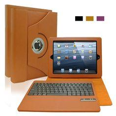 KHOMO Brown Leather 360 Degree Case with DETACHABLE Bluetooth Keyboard for Apple iPad 2 , iPad 3 & iPad 4 (The new iPad HD) KHOMO http://www.amazon.com/dp/B00G4F82D2/ref=cm_sw_r_pi_dp_hbi9wb05QQRHR