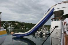 Costco feber super slide with water slide feature - Swimming pool basketball hoop costco ...