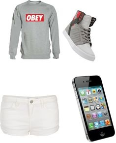 """""""Summer days"""" by simone-nielsen-1 ❤ liked on Polyvore"""