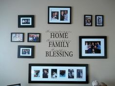 Home Family Blessing | Wall Decals