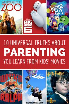 If you get roped into watching kids' movies over and over again, no worries. Here are 10 super helpful quotes for parents from family movie night picks. Next time you need parenting advice, just remember these sayings!