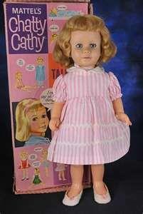 Chatty Cathy Doll..who had one??? MEEEEE!