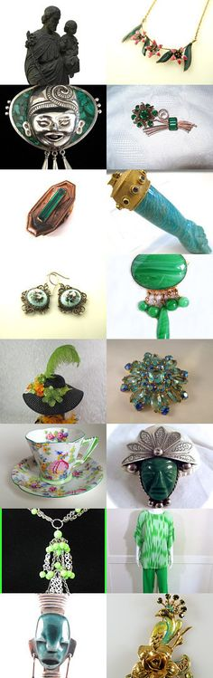 #VogueTeam Friday Fresh Finds #voguet Happy St. Patricks Day. Newly listed and relisted vintage from the Vintage VogueTeam. Search VogueTeam for more fabulous vintage! Curator: Mary Ellen from https://www.etsy.com/shop/VintageVogueTreasure