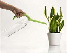 Water bottle to watering can.   www.eklectica.in #eklectica
