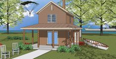 Plan 8-209 - Houseplans.com