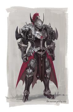 by: EunSun Kim / from: ArtStation Warrior Concept Art, Fantasy Art Warrior, Armor Concept, Fantasy Armor, Medieval Fantasy, Dark Fantasy Art, Fantasy Character Design, Character Design Inspiration, Character Concept
