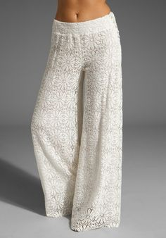 JEN'S PIRATE BOOTY Stardust Palazzo Pants in Natural at Revolve Clothing - Free Shipping!