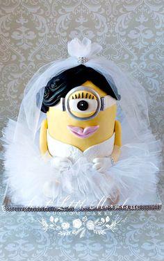 Minion Bride Cake
