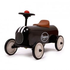BAGHERA RACER BLACK PEDAL CAR