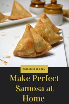 How to make samosa recipe with step by step pictures, Samosa is a very popular, most popular if I can say, deep fried snack in India. Vegan Samosa Recipes, Chicken Samosa Recipes, Curry Recipes, Vegetarian Recipes, Beef Samosa Recipe Indian, Indian Samosas, Indian Snacks, Indian Food Recipes, Gourmet Recipes