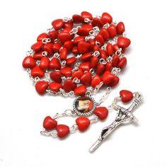 #rosary #rosaries #colorfulrosary #colourfulrosary #handmaderosary #catholic #catholicrosary #strita #saintrits World Vision International, English Alphabet Letters, Rosary Catholic, No Name, Wedding Engagement, Saints, Red Stones, How To Apply, Beads