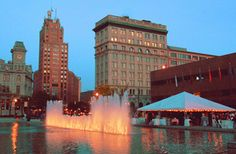 Clinton Square Fountain, Syracuse New York