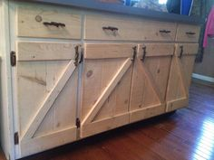 Doors And Drawers Remodel Barn Wood Cabinets Cabinet Farmhouse