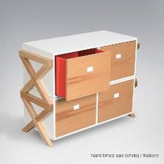 Campaign stacking dresser (2 units shown) by ducduc.
