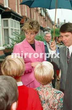 October 12, 1993: Princess Diana at the first Edward's Trust  Opening, Edgbaston, Birmingham.